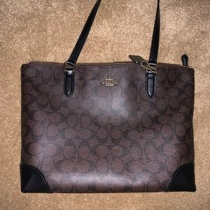 Coach tote bag barley used
